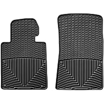 W24 Black Floor Mats, Front Row
