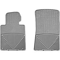 W24GR Gray Floor Mats, Front Row