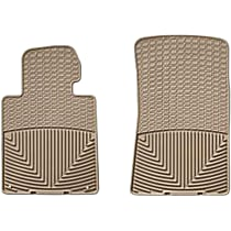 W24TN Tan Floor Mats, Front Row