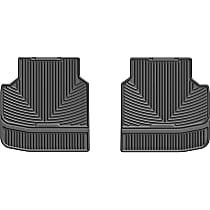 W314 Black Floor Mats, Second Row