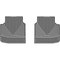 W314GR Gray Floor Mats, Second Row