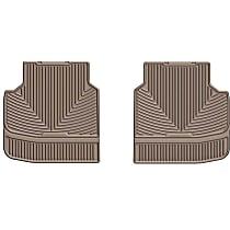 W314TN Tan Floor Mats, Second Row