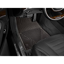 W351CO Brown Floor Mats, Front Row