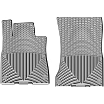 W351GR Gray Floor Mats, Front Row