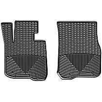 W360 Black Floor Mats, Front Row