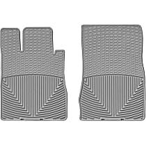 Gray Floor Mats, Front Row
