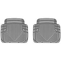 W50GR Gray Floor Mats, Second Row