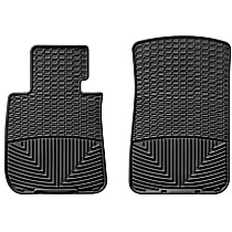 W61 Black Floor Mats, Front Row
