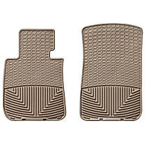 W61TN Tan Floor Mats, Front Row