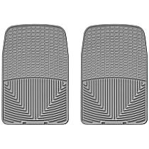 W9GR Gray Floor Mats, Front Row