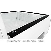 72-00431 Bed Rail Cap - Black, Plastic, Ribbed, Direct Fit, Set of 2