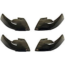 72-31234 Headlight Cover - Smoked, Plastic, Direct Fit, Set of 4