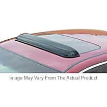 Wade Auto 72-33106 Universal Smoked Acrylic Roof Air Deflector, Sold individually