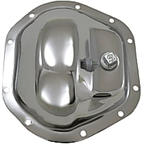 YP C1-D44-STD Differential Cover - Polished, Aluminum, Direct Fit, Sold individually