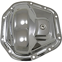 Yukon Gear & Axle YP C1-D60-STD Differential Cover - Chrome, Steel, Direct Fit, Sold individually