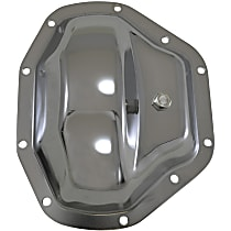Yukon Gear & Axle YP C1-D80 Differential Cover - Chrome, Steel, Direct Fit, Sold individually