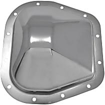 Differential Cover - Chrome, Steel, Direct Fit, Sold individually Rear