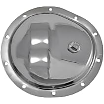 Differential Cover - Chrome, Steel, Direct Fit, Sold individually Front
