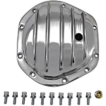 Yukon Gear & Axle YP C2-D44-STD Differential Cover - Polished, Aluminum, Direct Fit, Sold individually