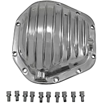 YP C2-D60-STD Differential Cover - Polished, Aluminum, Direct Fit, Sold individually