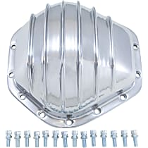 Differential Cover - Polished, Aluminum, Direct Fit, Sold individually Rear
