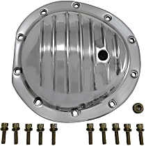 YP C2-GM8.5-F Differential Cover - Polished, Aluminum, Direct Fit, Sold individually