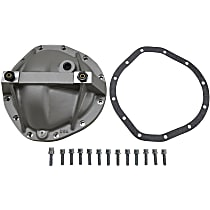 Yukon Gear & Axle YP C3-GM12T Differential Cover - Polished, Aluminum, Direct Fit, Sold individually