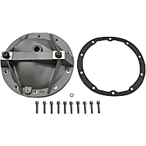 Differential Cover - Natural, Direct Fit, Sold individually