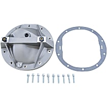 Differential Cover - Polished, Aluminum, Direct Fit, Sold individually