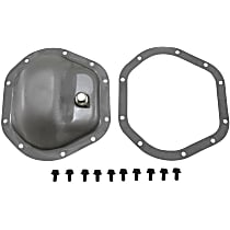 YP C5-D44-STD Differential Cover - Silver, Steel, Direct Fit, Sold individually