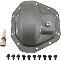 YP C5-D70 Differential Cover - Silver, Steel, Direct Fit, Sold individually