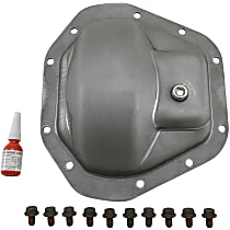 Yukon Gear & Axle YP C5-D70 Differential Cover - Silver, Steel, Direct Fit, Sold individually
