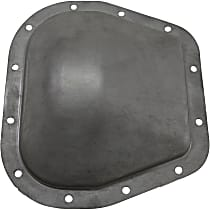 Differential Cover - Silver, Steel, Direct Fit, Sold individually Rear