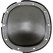 Differential Cover - Silver, Steel, Direct Fit, Sold individually