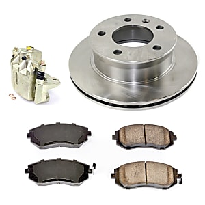 Brake Discs, Pads & Calipers