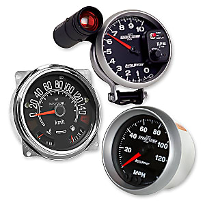 Gauges, Meters & Monitors