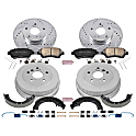Brake Disc And Drum Kit