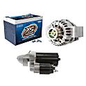 Starters, Alternators, Batteries & Components