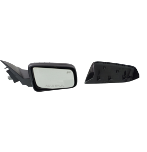 Mirror Heated - Passenger Side, Power Glass, 2 Caps - Paintable & Textured Black