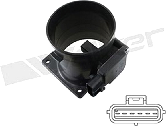245-2014 Walker Products Mass Air Flow Sensor New for Ford Mustang Town Car
