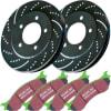 EBC Brake Disc and Pad Kit